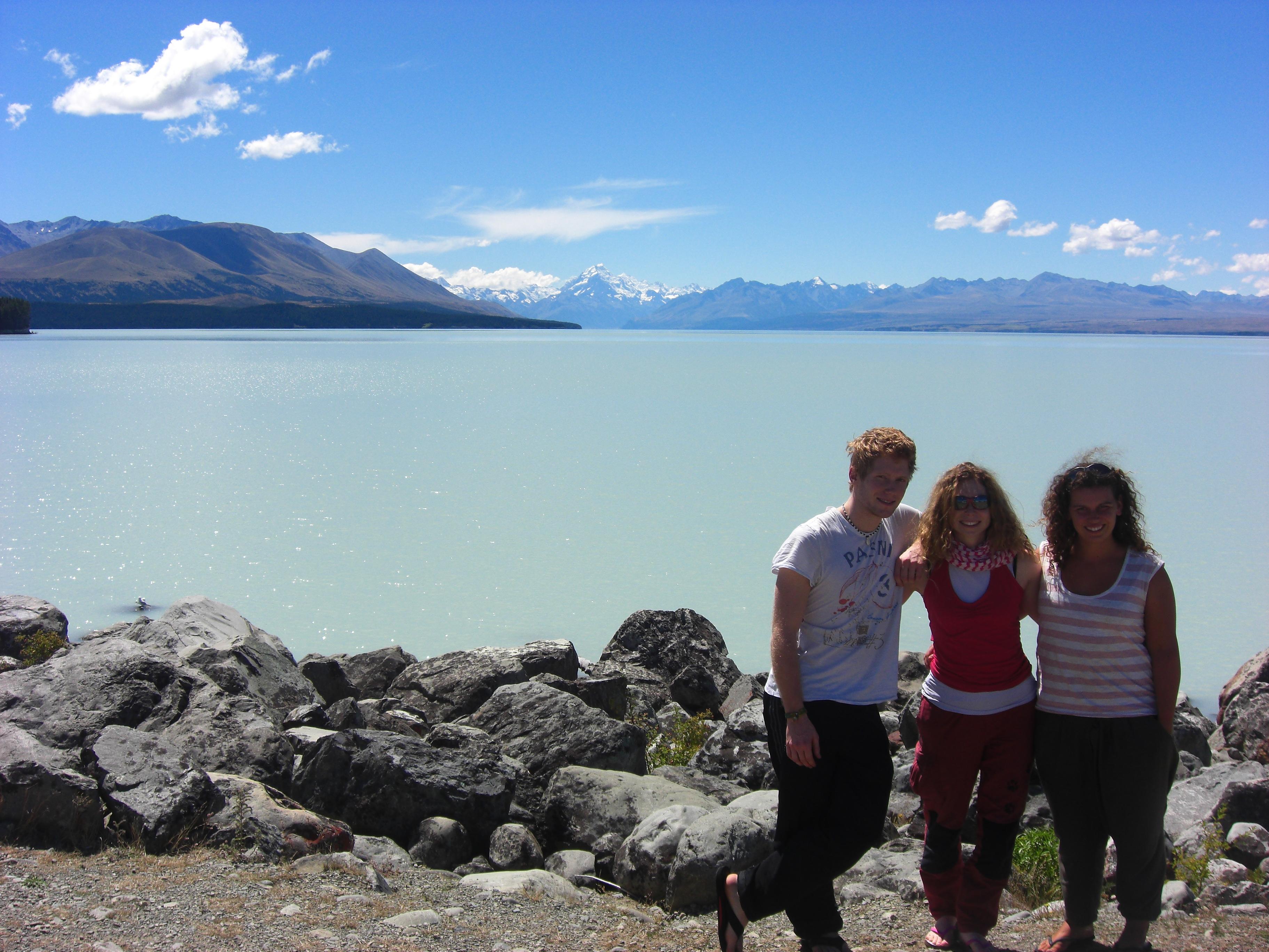 Mt Cook behind us