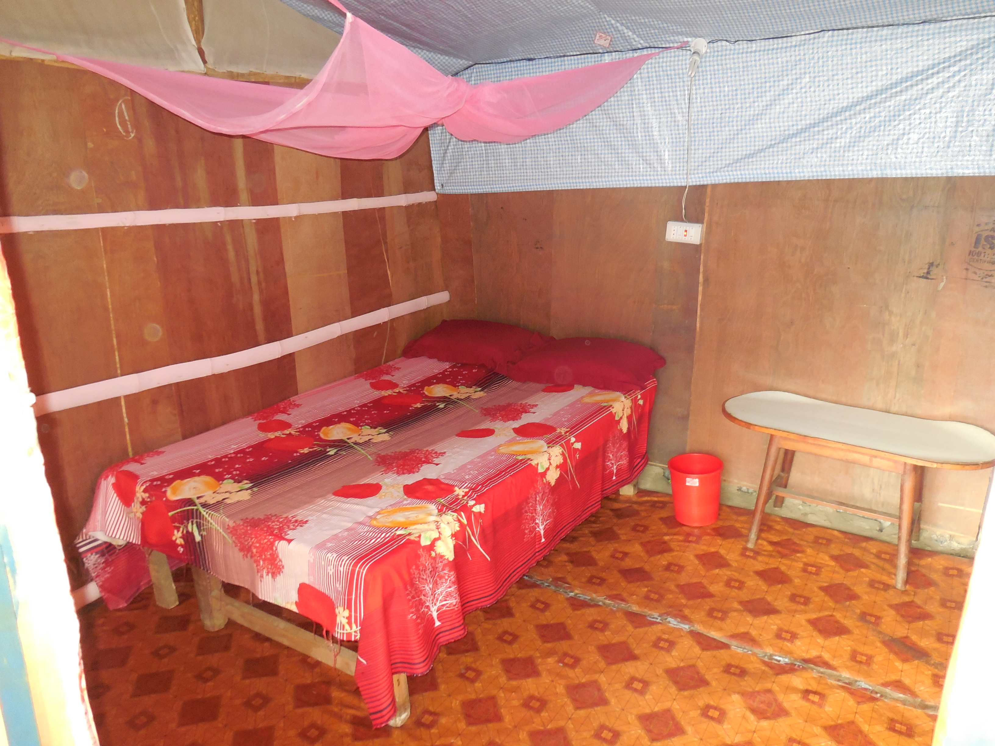 My guesthouse room, for one night. Very basic but lovely