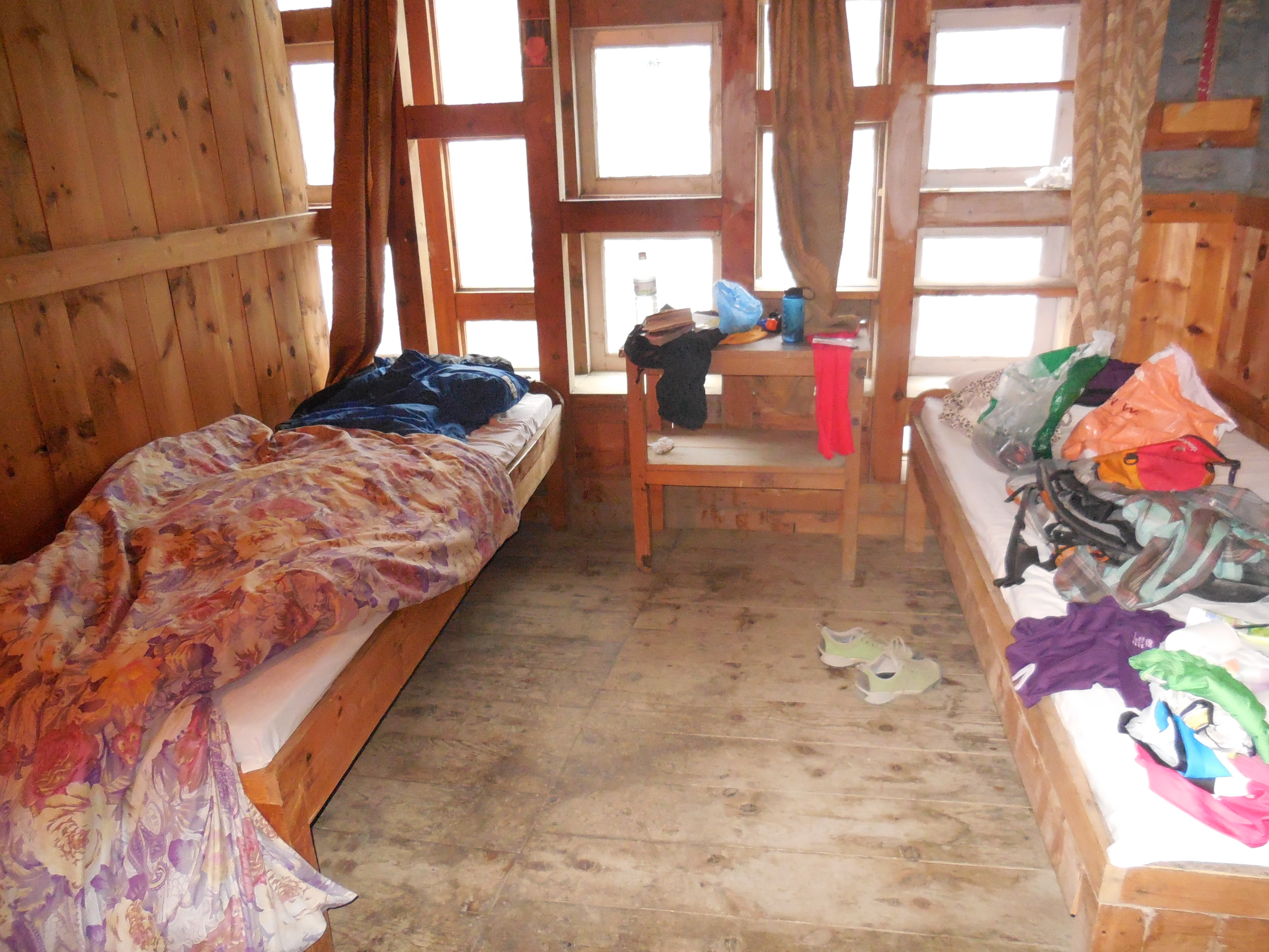 My room in Manang. It was quite cold