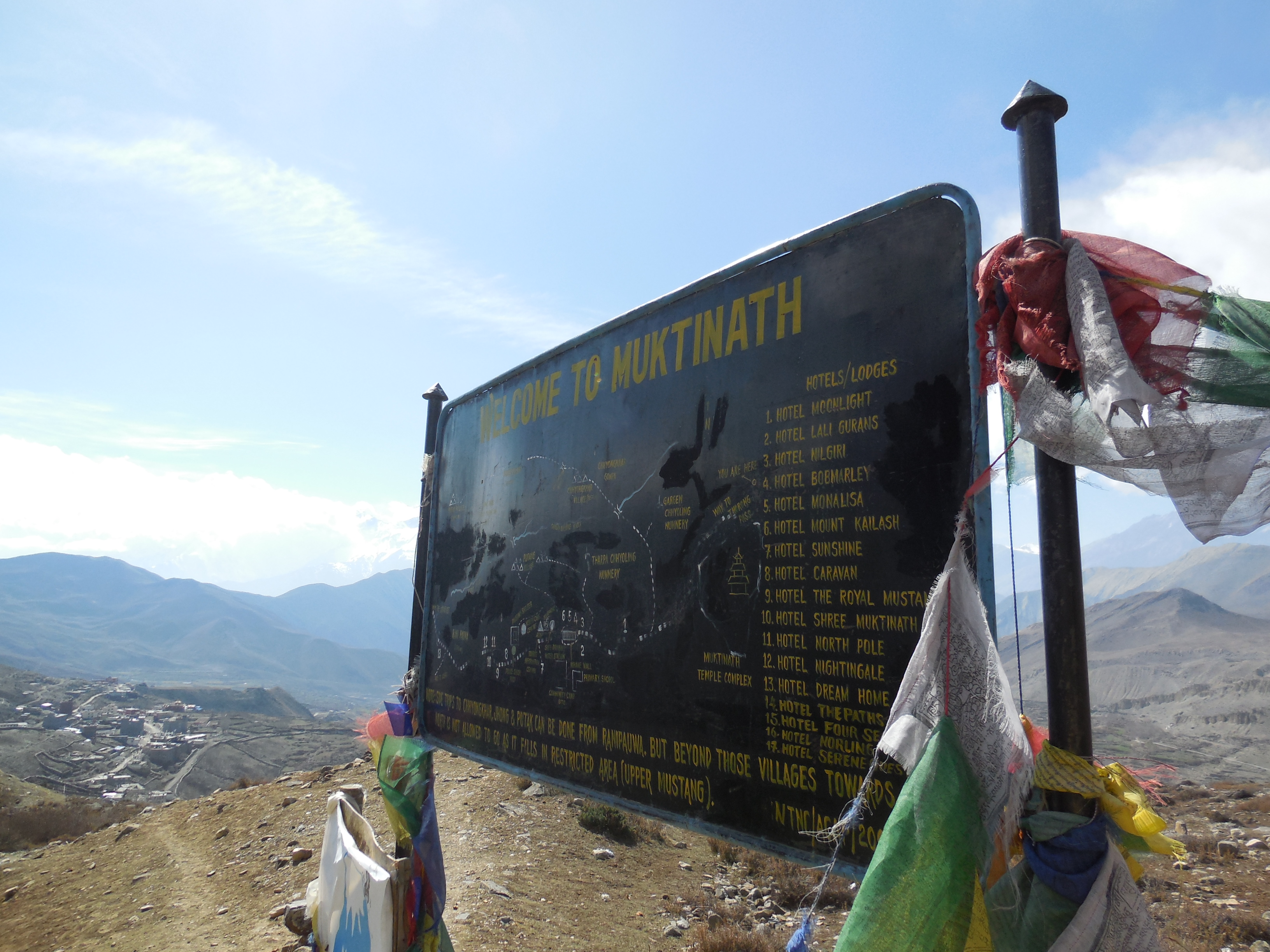 Arrived in Muktinath