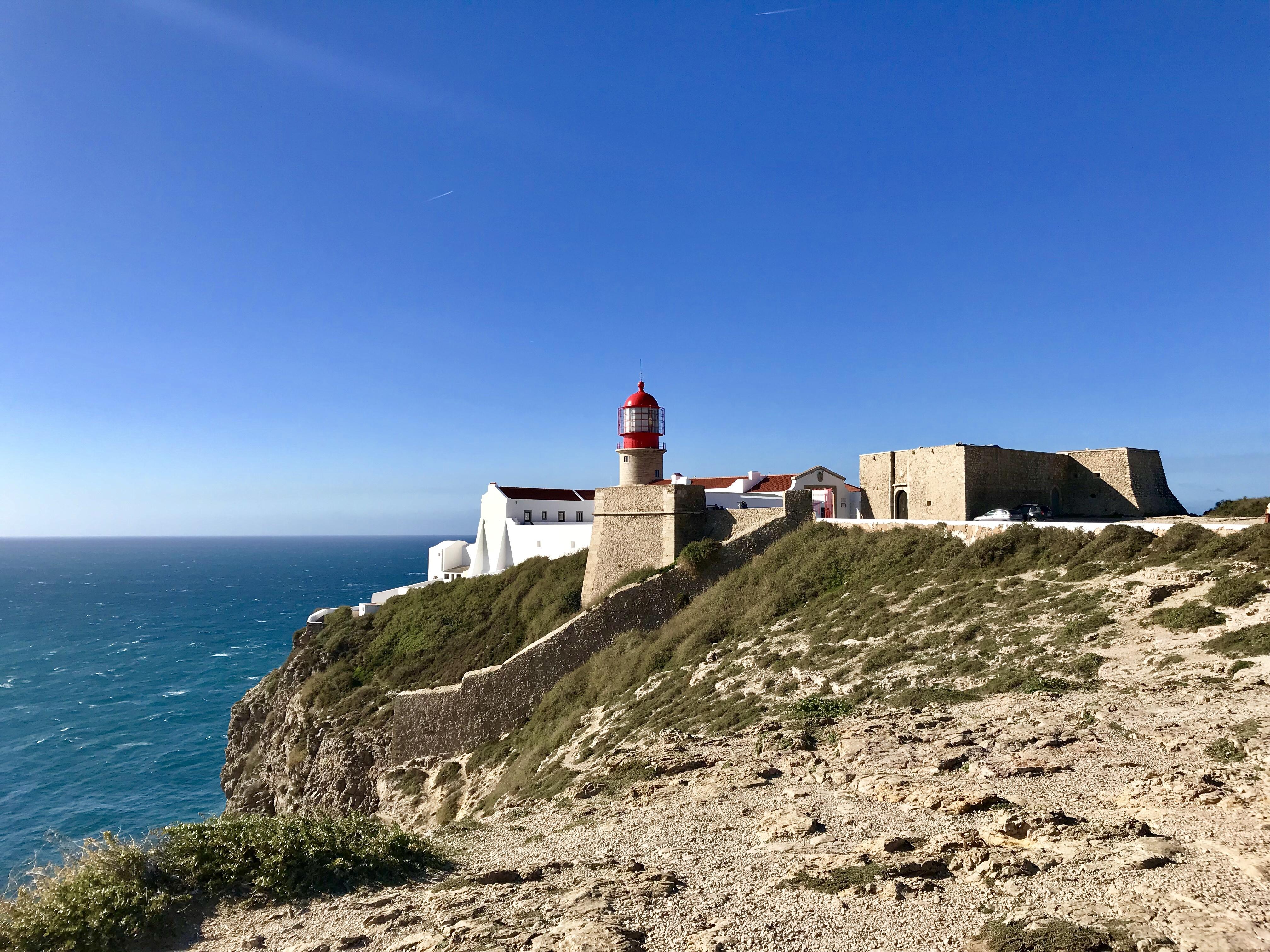 Cabo São Vicente bei Sagres - südwestlichster Punkt Europas